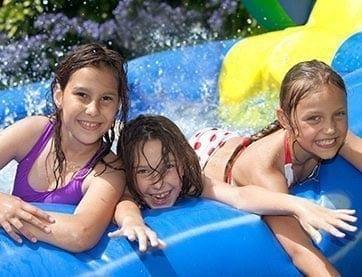 KC Summer Fun water slide