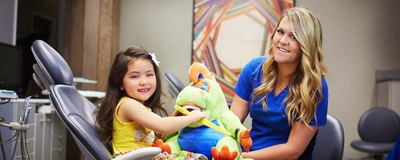 Oral Care - LeBlanc & Associates Dentistry For Children in Kansas