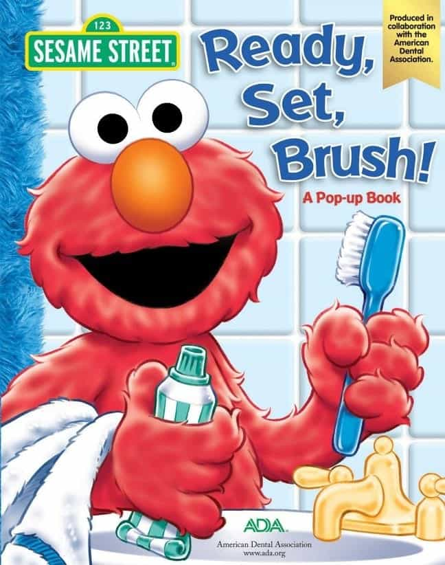 Ready Set Brush Elmo Book