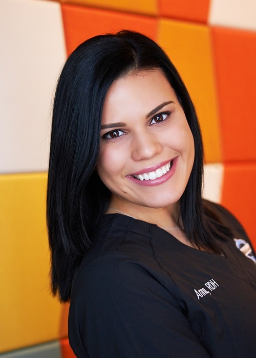 Anna - Registered Dental Hygienist portrait.